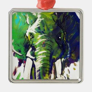 Elefante caprichoso adorno de cerámica