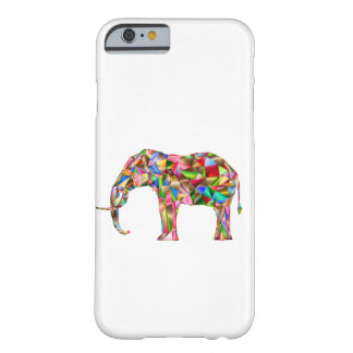 Elefante colorido funda barely there iPhone 6