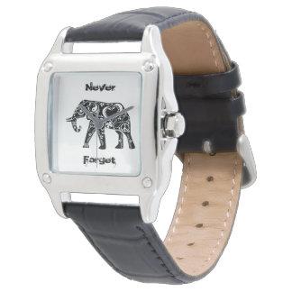 Elefante de la paz reloj