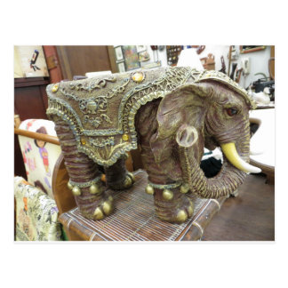Elefante decorativo postal