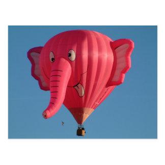Elefante del globo postal