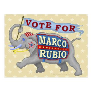 Elefante del presidente 2016 republicano de Marco Postal