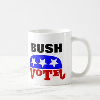 Elefante del republicano de Jeb Bush del voto Taza De Café