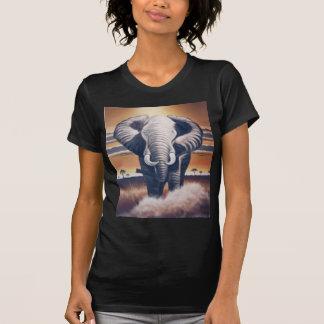 Elefante del safari camisetas