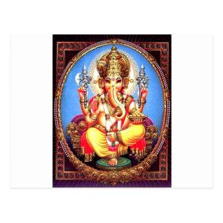 Elefante indio de Ganesha (गणेश) Postal