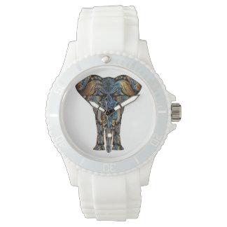Elefante indio reloj de pulsera