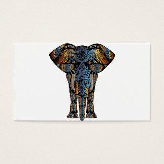 Elefante indio tarjeta de visita