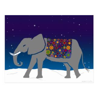 Elefante maravilloso postal