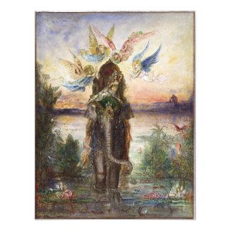 Elefante sagrado de Gustave Moreau Impresiones Fotográficas