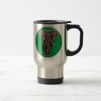 Elefante Taza De Viaje De Acero Inoxidable