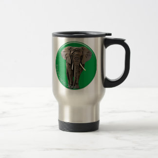 Elefante Taza De Viaje