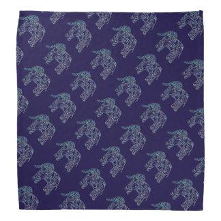 Elefantes decorativos modelados bandana