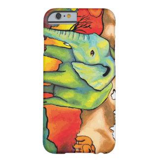Elefantes surrealistas funda para iPhone 6 barely there