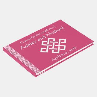 Elegancia china en libro de visitas de la