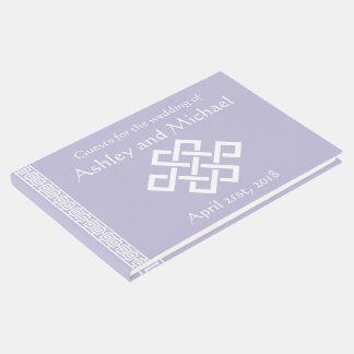 Elegancia china en libro de visitas de la lavanda
