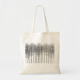 Elegancia de la bolsa de asas de maderas