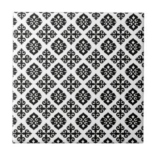 Azulejos modelo blanco negro - Azulejo negro ...