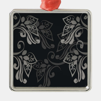 Elegant_patterns_black_flowers_swirls_designs Ornamentos Para Reyes Magos