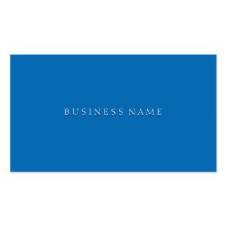 Elegante azul del deslumbramiento tarjetas de visita