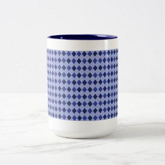 Elegante-Azul-Diamantes (c) Coffee_Multi-Styles_ Taza Bicolor