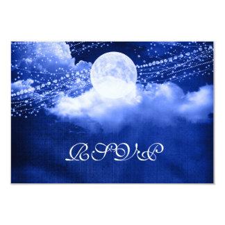 Elegante bajo claro de luna RSVP Invitación 8,9 X 12,7 Cm