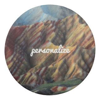elegante fresco de la montaña del paisaje hermoso goma de borrar