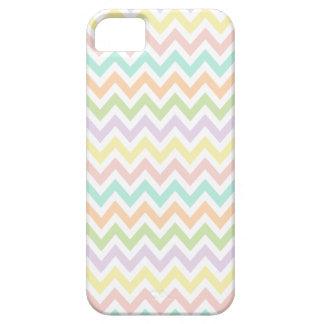 Elegante geometría de chevrón en multicolor iPhone 5 Case-Mate carcasas