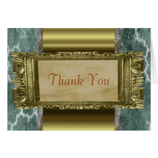 Elegante gracias las notas felicitaciones