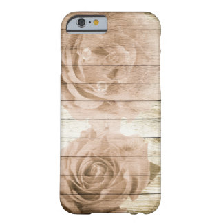 Elegante lamentable palidece - rosas rosados en la funda barely there iPhone 6