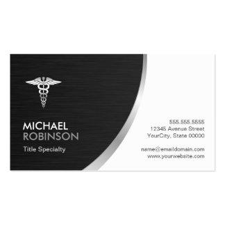 Elegante moderno del logotipo médico profesional tarjetas de visita