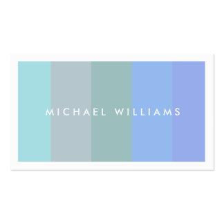 Elegante profesional fresco jóven suave agradable tarjetas de visita