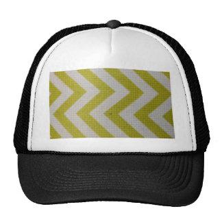 elegante tejida modelo blanco del amarillo de la m gorras de camionero