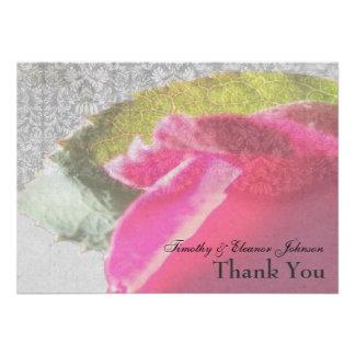 Elegantes del capullo de rosa del damasco personal comunicado