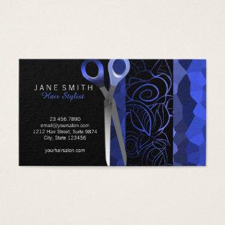 Elegantes elegantes scissor la tarjeta de la cita