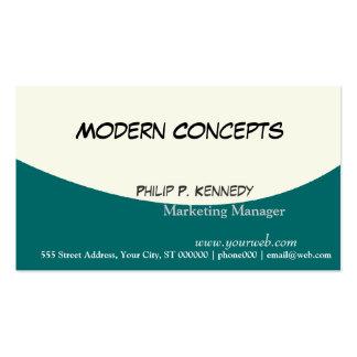 Elegantes masculinos modernos profesionales tarjetas de visita