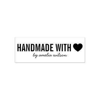 Elegantes simples personalizan hecho a mano con sello automático