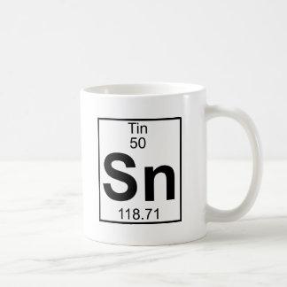 Elemento 050 - Sn - lata (llena) Taza De Café