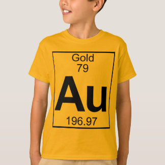Elemento 079 - Au - oro (lleno) Camiseta
