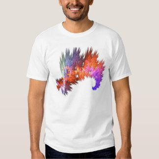 elemento abstracto del logotipo camisetas