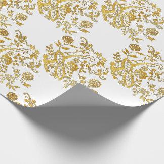 Elemento azul del estilo de la cebolla papel de regalo