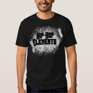 Elemento de la pintada invertido camisas