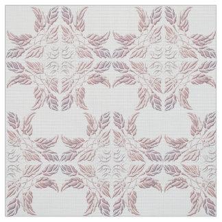 Elemento decorativo hermoso de hojas tela