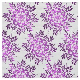 Elemento floral de los círculos tela