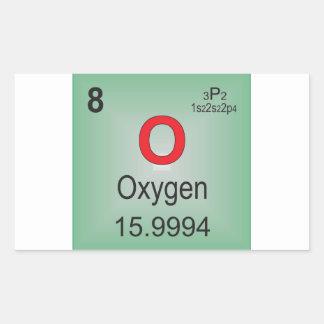 Elemento individual del oxígeno de la tabla rectangular altavoz