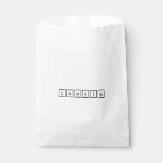 Elemento químico Z57c7 de las galletas Bolsa De Papel