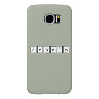 Elemento químico Z57c7 de las galletas Funda Samsung Galaxy S6