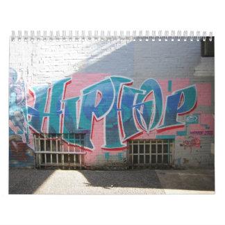 Elementos de la cultura de Hip Hop Calendario De Pared