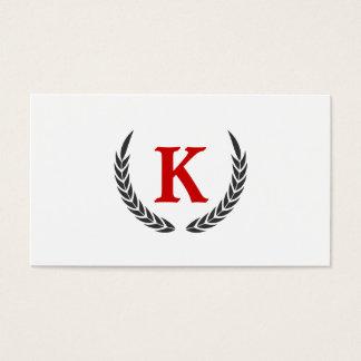 Elementos decorativos tarjeta de negocios
