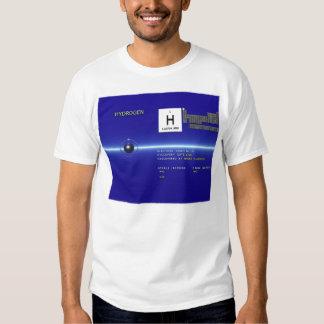 Elementos - hidrógeno camiseta