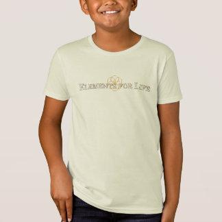 Elementos para la camiseta de los niños del